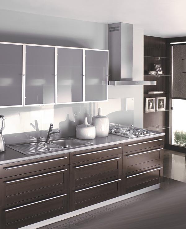 Przykładowe realizacje kuchni -> Kuchnia Fronty Ekran